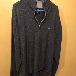1/4 zip Beverly Hills Polo club Pull over sweater
